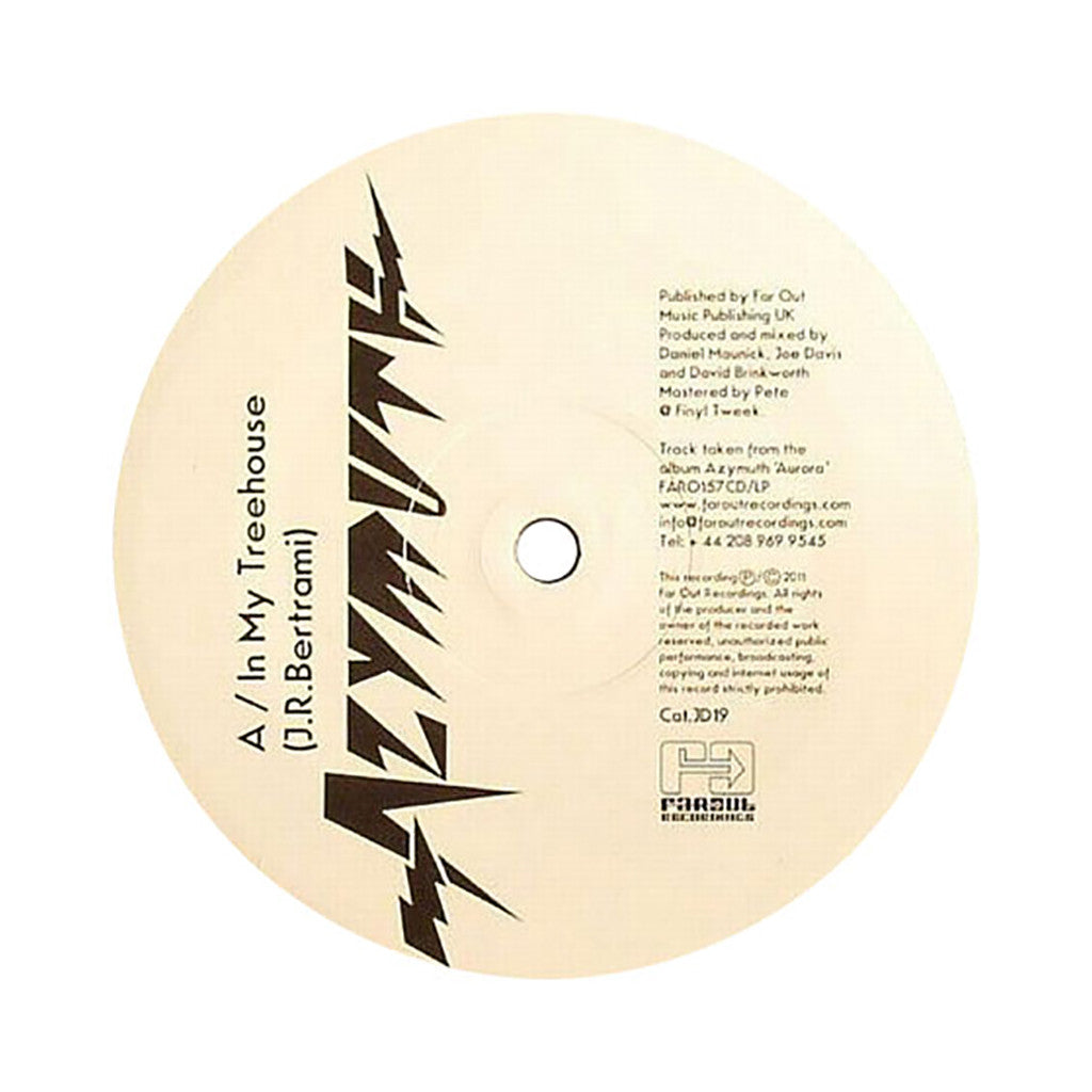 "<!--119000101004644-->Azymuth - 'In My Treehouse/ Crazy Clock' [(Black) 12"" Vinyl Single]"