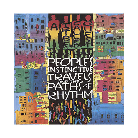 A Tribe Called Quest - 'People's Instinctive Travels And The Paths Of Rhythm' [(Black) Vinyl [2LP]]
