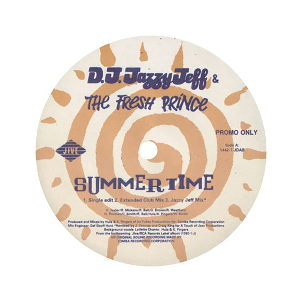 <!--2002111423-->DJ Jazzy Jeff & Fresh Prince - 'Summertime' [Streaming Audio]