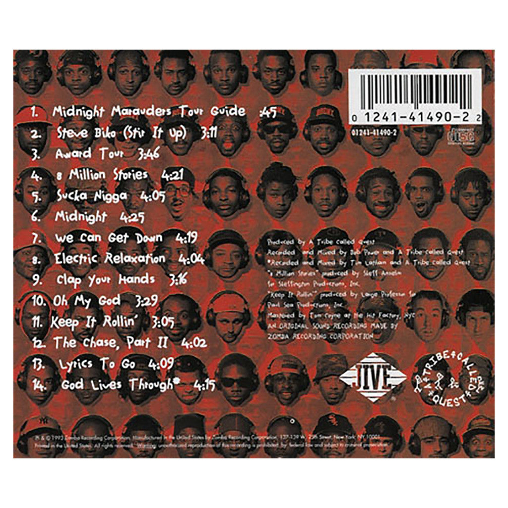 <!--119931109012623-->A Tribe Called Quest - 'Midnight Marauders' [CD]