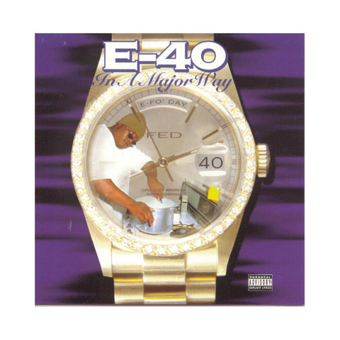 "[""E-40 - 'In A Major Way' [(Black) Vinyl [2LP]]""]"
