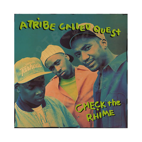 "A Tribe Called Quest - 'Check The Rhime (Remixes)/ Check The Rhime/ Skypager' [(Black) 12"""" Vinyl Single]"