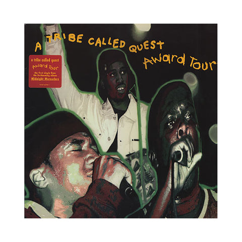 "A Tribe Called Quest - 'Award Tour/ The Chase, Part II' [(Black) 12"""" Vinyl Single]"