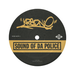 "<!--019930101005328-->KRS-One - 'Sound Of Da Police/ Hip Hop vs. Rap/ Sound Of Da Police (Remix)' [(Black) 12"" Vinyl Single]"