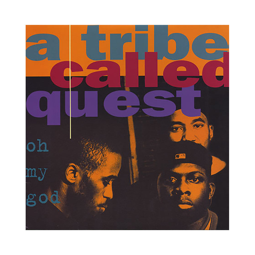 "A Tribe Called Quest - 'Oh My God/ Oh My God (Remixes)/ Lyrics To Go/ Lyrics To Go (Remix)/ One Two Shit' [(Black) 12"" Vinyl Single]"