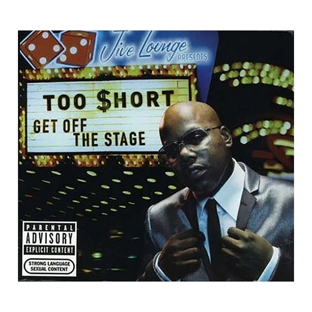 <!--020071204000636-->Too $hort - 'Get Off The Stage' [CD]