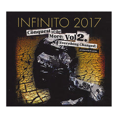 <!--2012040342-->Infinito:2017 - 'Conquest Of The More Vol. 2: Everything Changed' [CD]