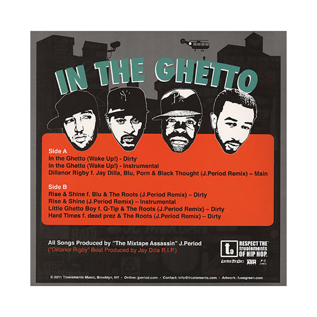 <!--020120207041129-->J. Period - 'In The Ghetto (Wake Up!)' [(Black) Vinyl EP]