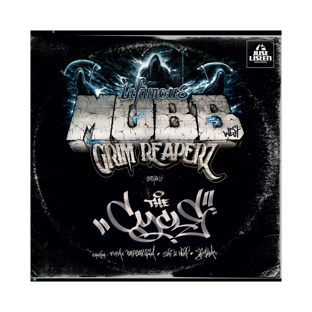 Grim Reaperz & Infamous Mobb - 'The Cycle' [(Black) Vinyl EP]