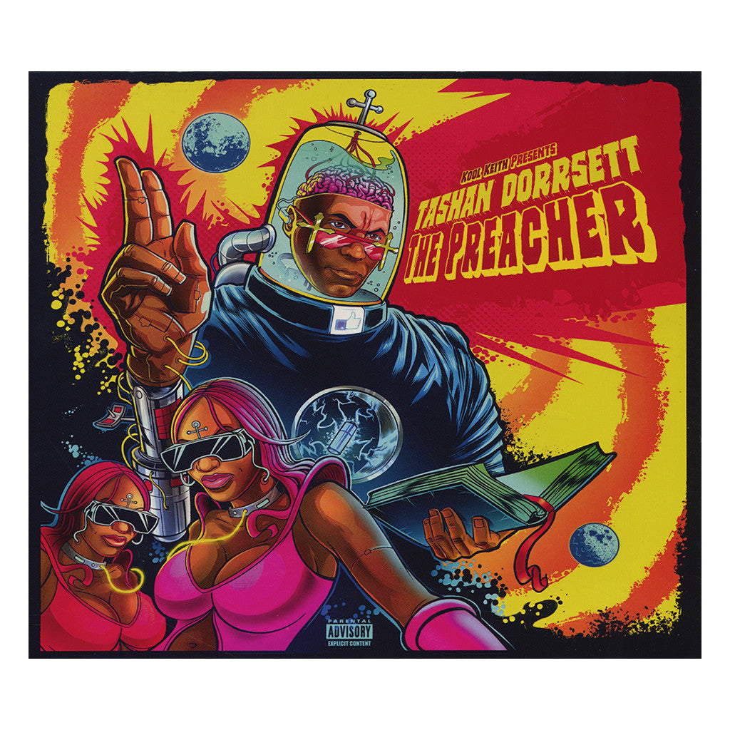 Kool Keith - 'Tashan Dorrsett - The Preacher' [CD]