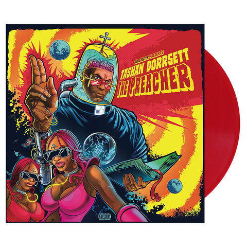 Kool Keith - 'Tashan Dorrsett - The Preacher' [(Red) Vinyl LP]