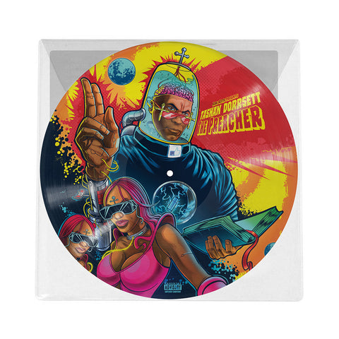 Kool Keith - 'Tashan Dorrsett - The Preacher (Deluxe Edition)' [(Picture Disc) Vinyl LP]