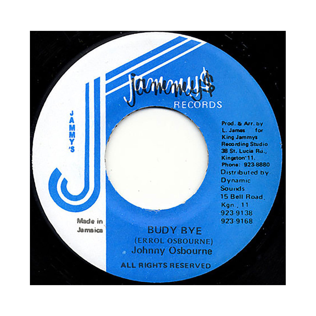 "<!--019850507013801-->Johnny Osbourne - 'Budy Bye' [(Black) 7"" Vinyl Single]"