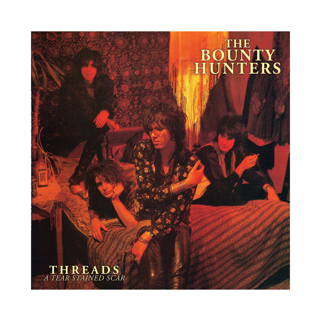 Dave Kusworth & The Bounty Hunters - 'Threads...A Tear Stained Scar' [(Red) Vinyl LP]