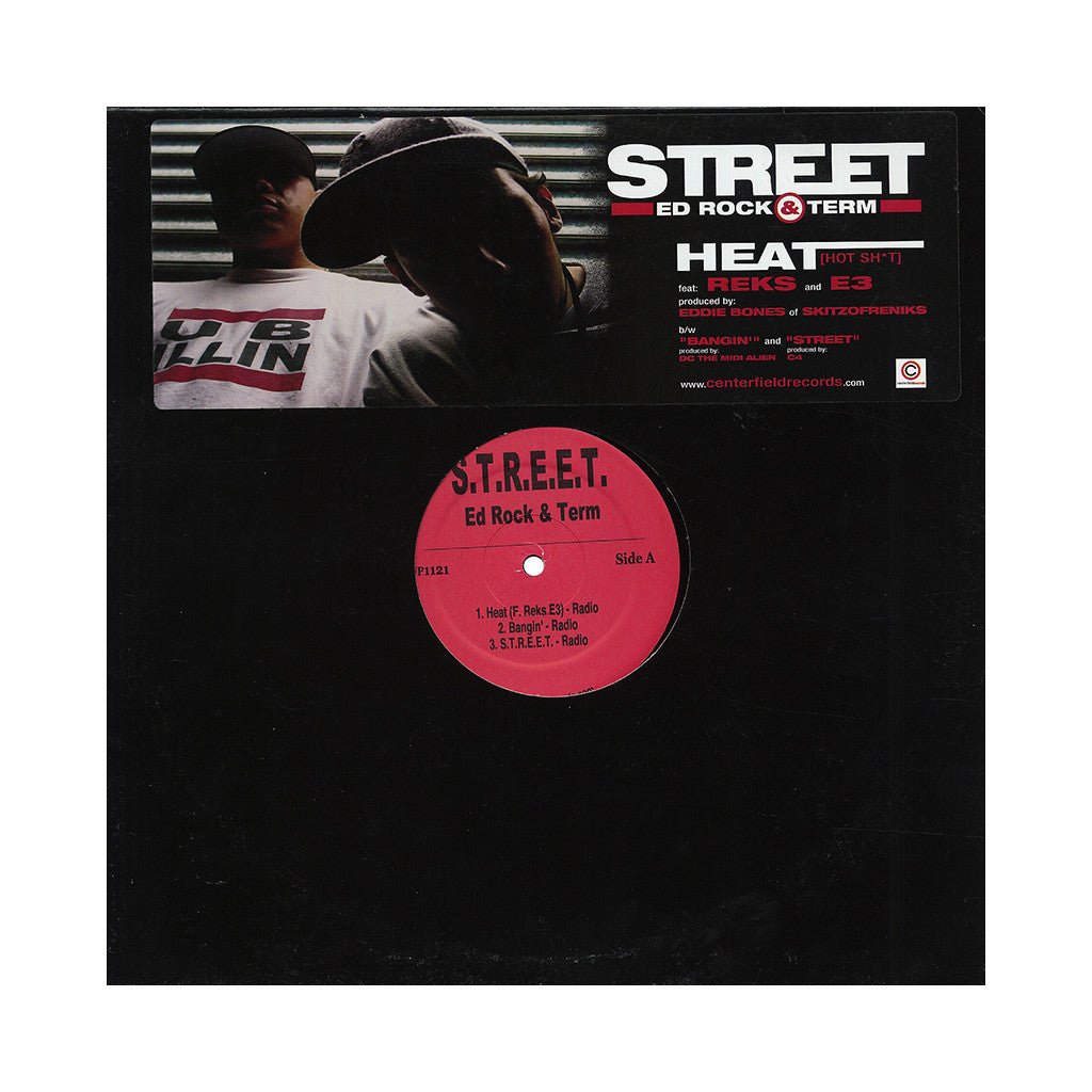 "<!--020020326001369-->S.T.R.E.E.T. - 'Heat/ Bangin'/ S.T.R.E.E.T.' [(Black) 12"" Vinyl Single]"