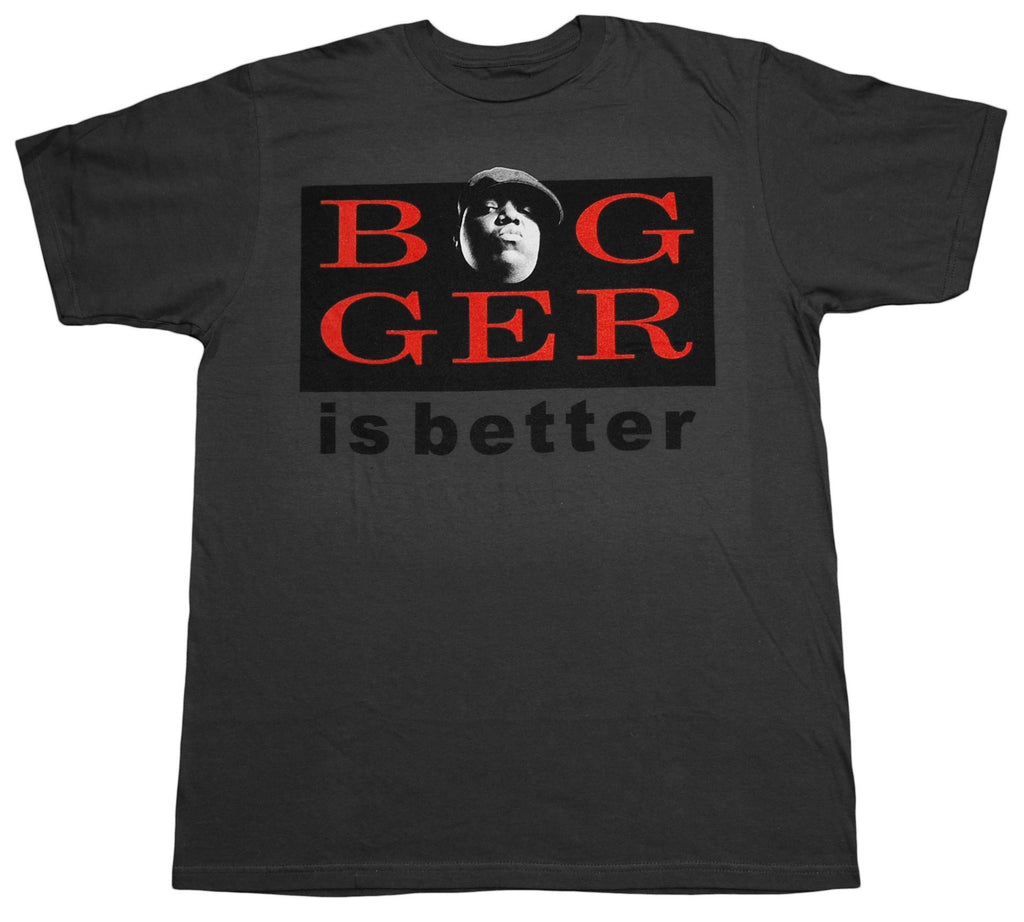 <!--2012122518-->Jeepney (The Notorious B.I.G.) - 'Bigger Is Better' [(Dark Gray) T-Shirt]