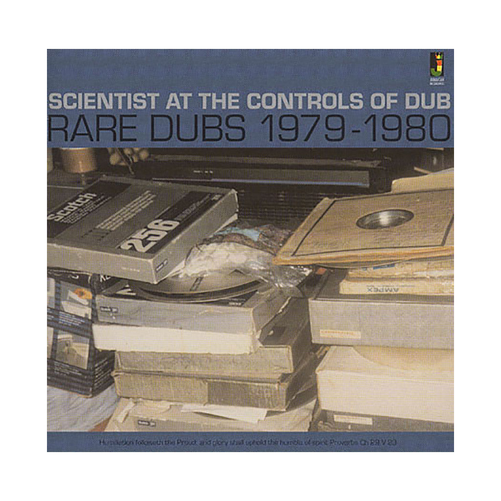 Scientist - 'Scientist At The Controls Of Dub: Rare Dubs 1979-1980' [CD]