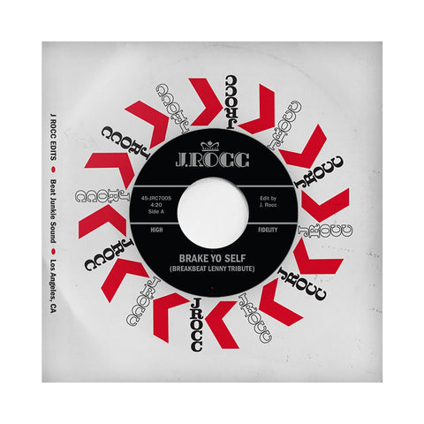 "J. Rocc - 'Funky President Edits Vol. 5: Break Yo Self' [(Black) 7"" Vinyl Single]"