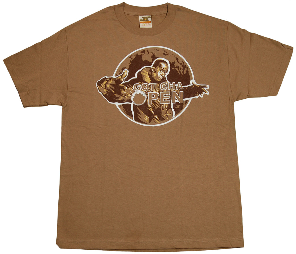 <!--2011100450-->Jrevolution (Buckshot) - 'Got Cha Open' [(Light Brown) T-Shirt]