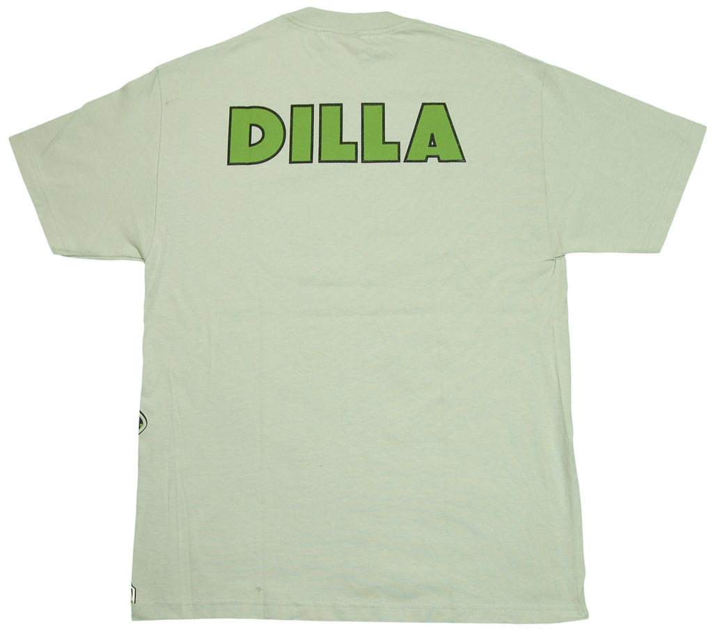 <!--2011092714-->Jrevolution (J Dilla aka Jay Dee) - 'Dilla (w/ Text)' [(Light Green) T-Shirt]