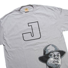 <!--020101019024643-->Jrevolution (J Dilla aka Jay Dee) - 'Dilla (w/ Text)' [(Light Gray) T-Shirt]
