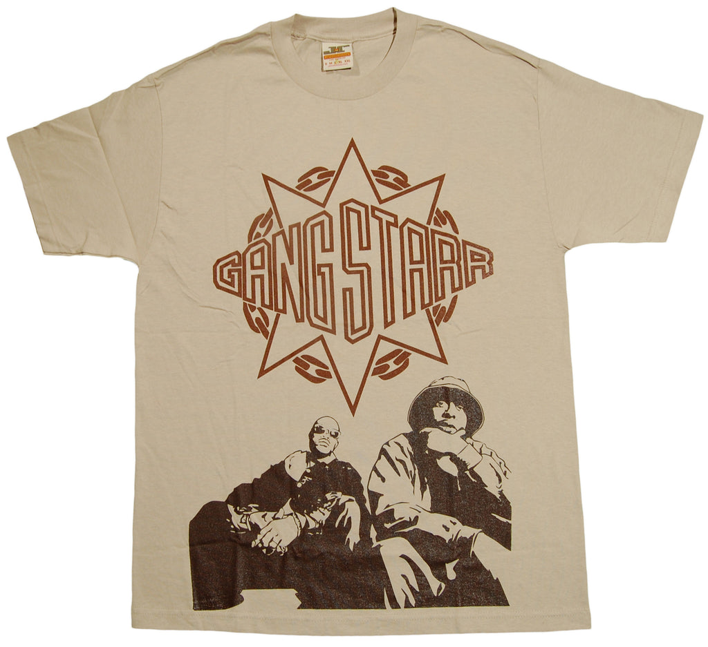 <!--2010101956-->Jrevolution - 'Gang Starr' [(Light Brown) T-Shirt]