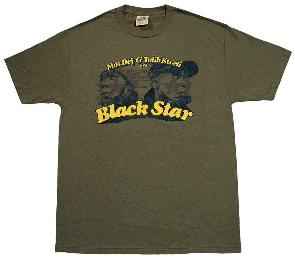 <!--2010101907-->Jrevolution - 'Black Star' [(Dark Green) T-Shirt]