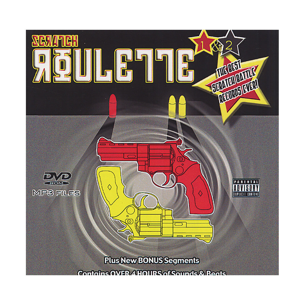 DJ JS-1 - 'Scratch Roulette Vol. 1 & 2' [CD]