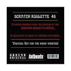 "DJ JS-1 - 'Scratch Roulette 45' [(Black) 7"" Vinyl Single]"