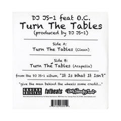 "<!--120140930064951-->DJ JS-1 - 'Turn The Tables' [(Black) 7"" Vinyl Single]"