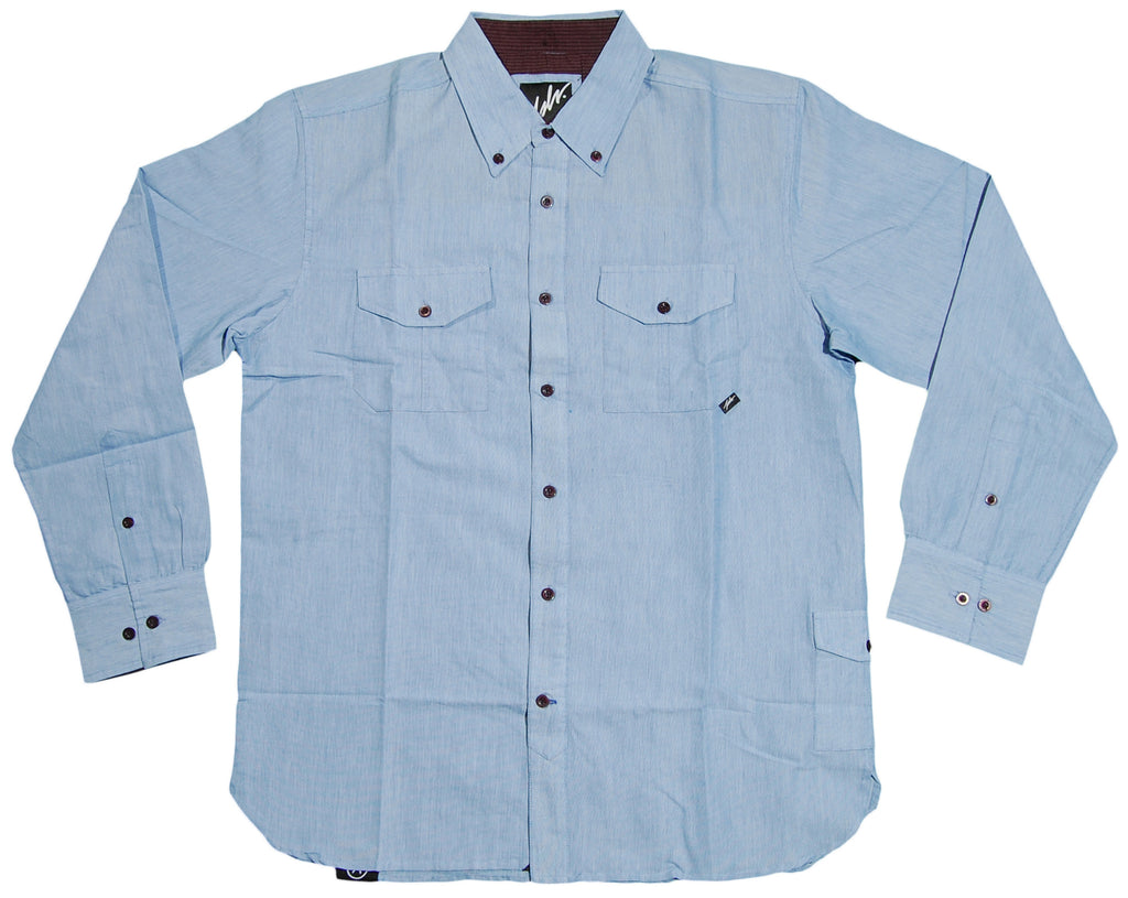 <!--2012082812-->JSLV - 'Late Night' [(Light Blue) Button Down Shirt]