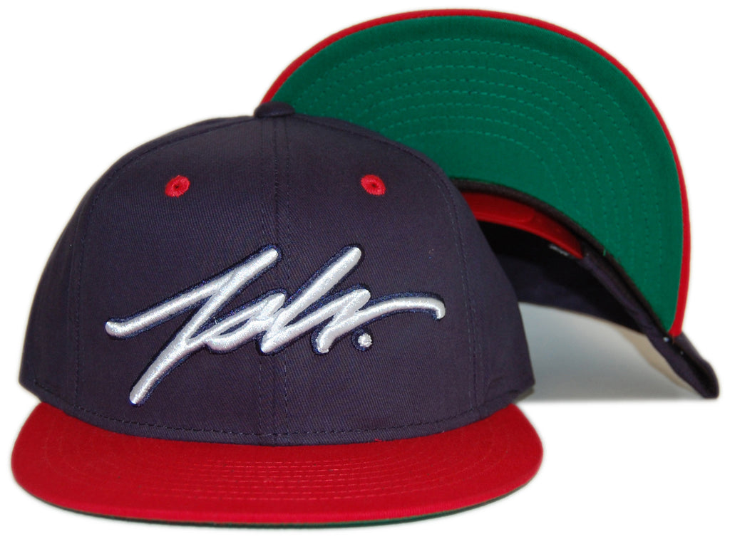 <!--020120724047392-->JSLV - 'Signature' [(Dark Blue) Snap Back Hat]