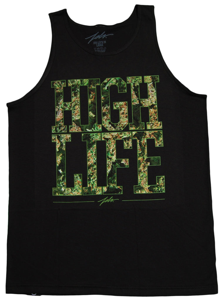 <!--2013031241-->JSLV - 'High Life Nug' [(Black) Tank Top]