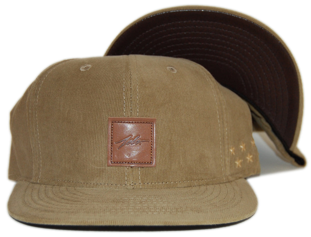 <!--020120724047390-->JSLV - 'Terrain' [(Light Brown) Snap Back Hat]
