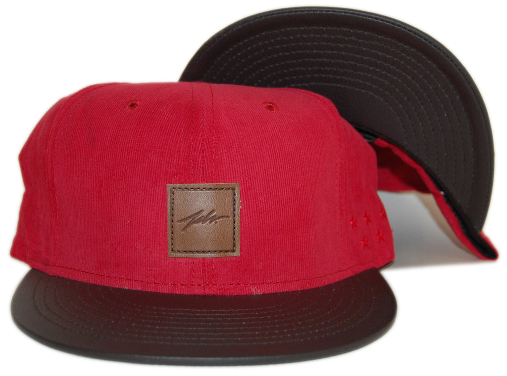 <!--020120724047389-->JSLV - 'Terrain' [(Red) Snap Back Hat]