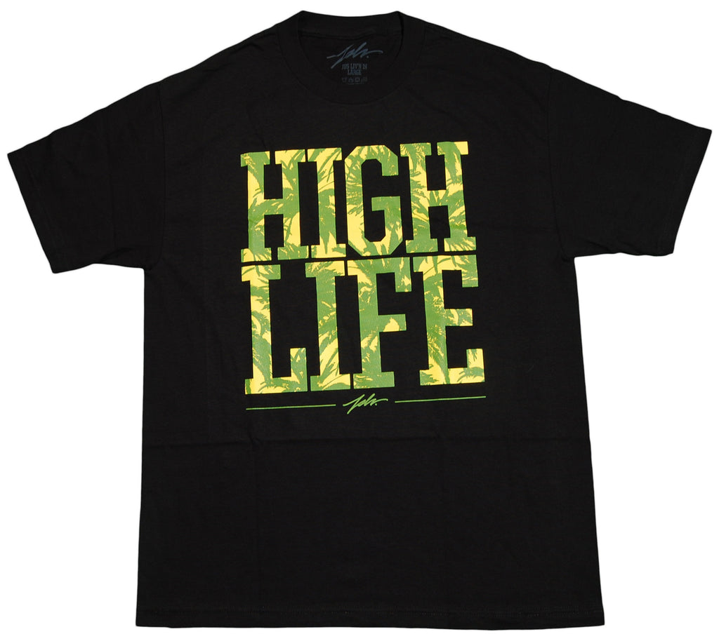 <!--2012072446-->JSLV - 'High Life' [(Black) T-Shirt]