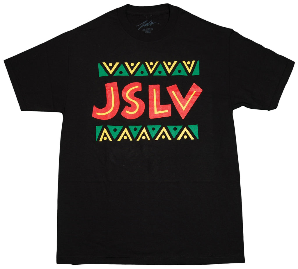 <!--2012072449-->JSLV - 'Tribe' [(Black) T-Shirt]