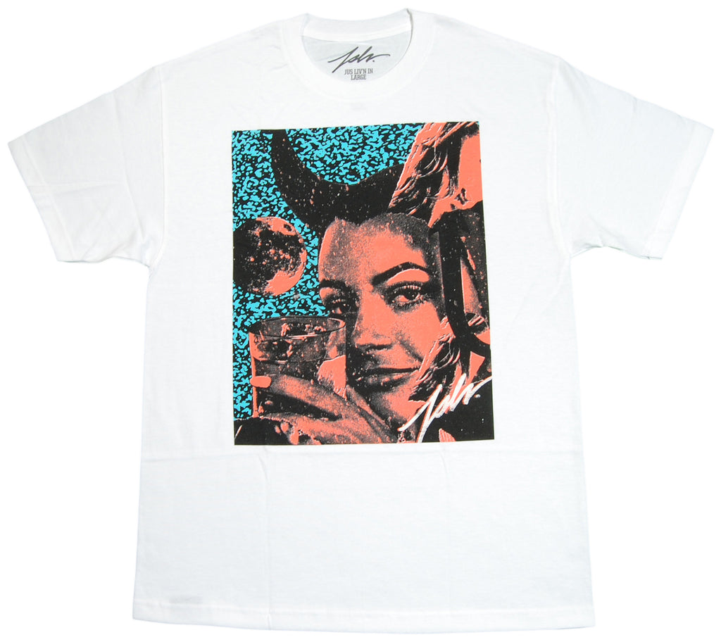 <!--2012072410-->JSLV - 'Drink Up' [(White) T-Shirt]