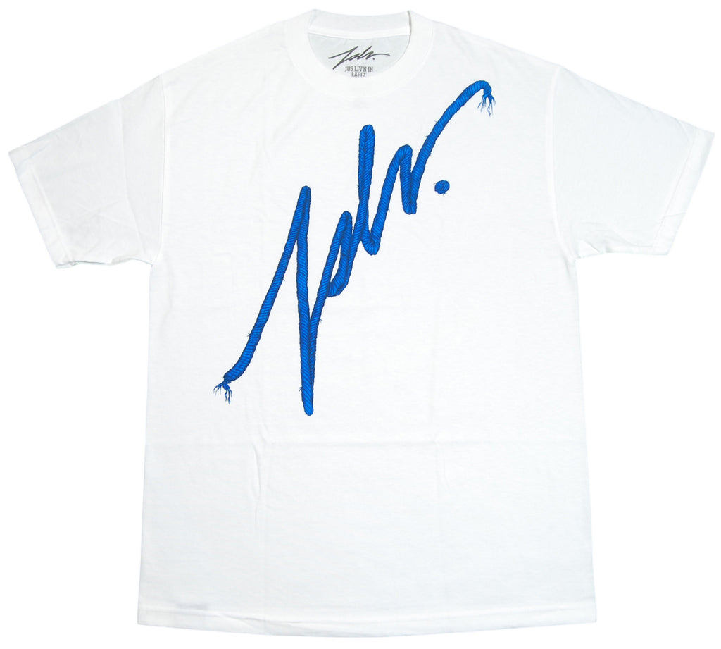 <!--2012072431-->JSLV - 'Signature Premium Rope' [(White) T-Shirt]