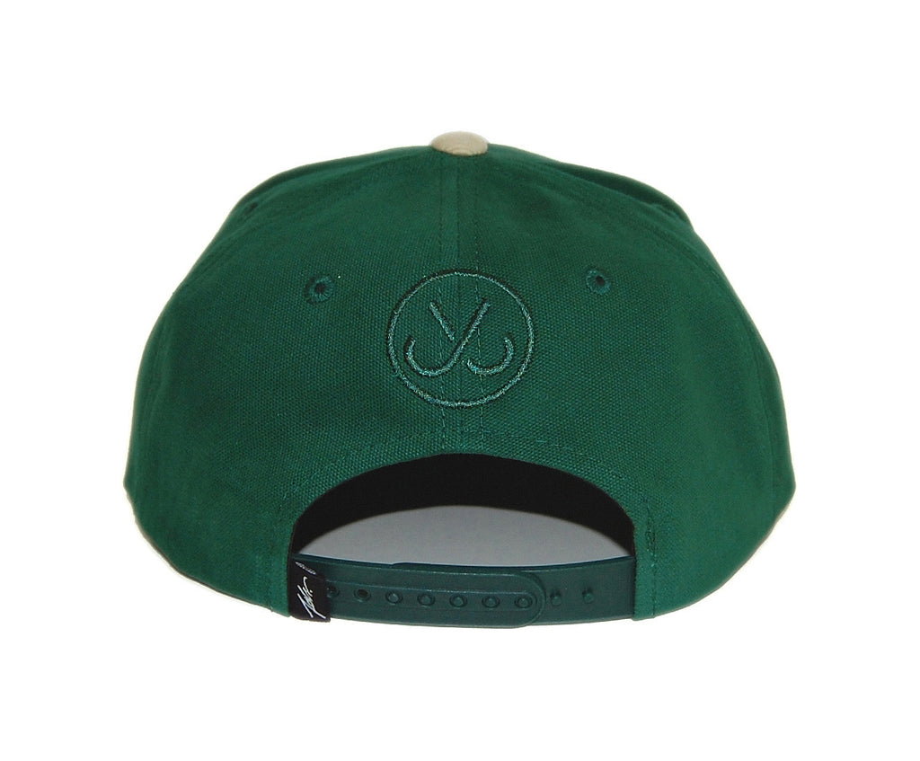 <!--020131022060648-->JSLV - 'Signature' [(Green) Snap Back Hat]