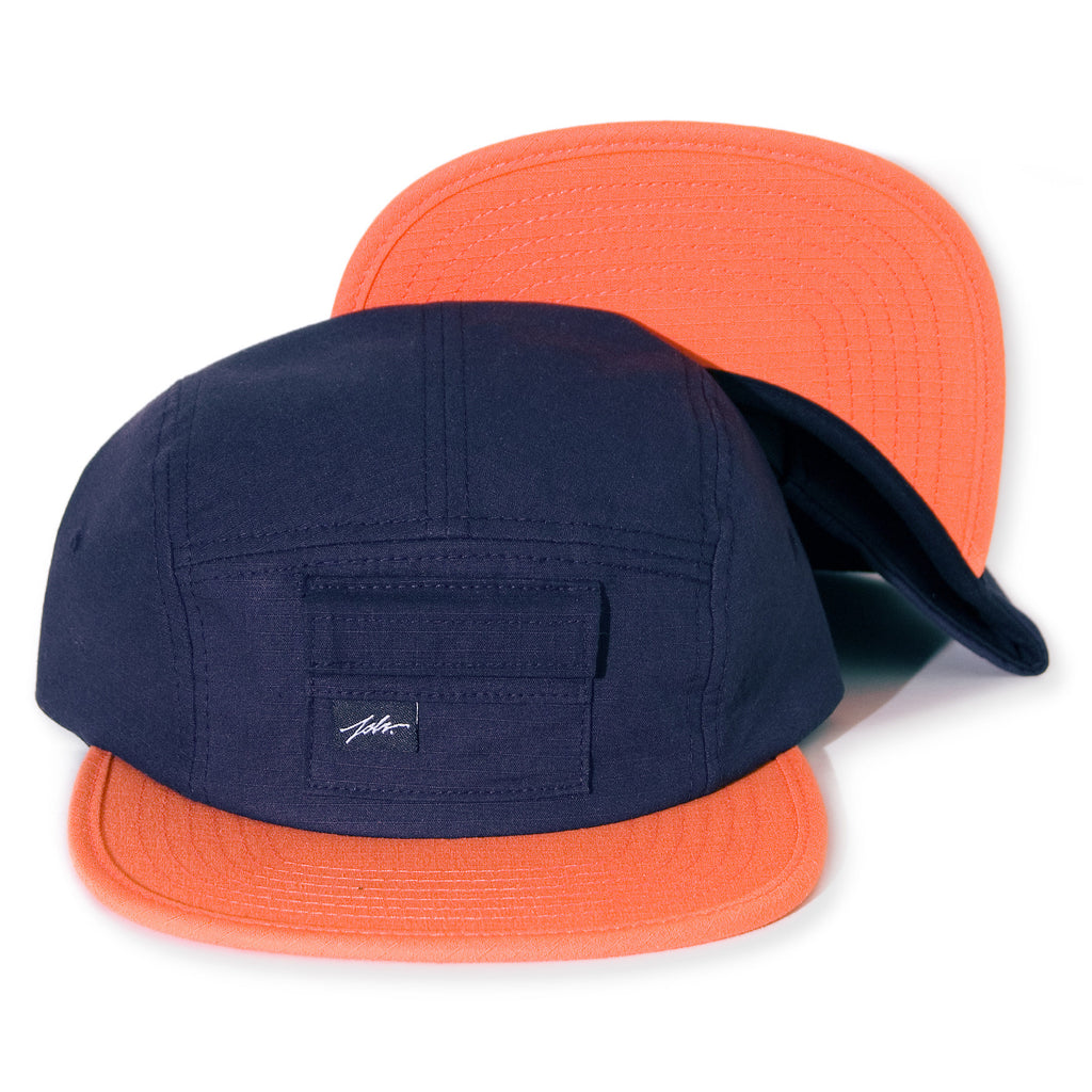 <!--020140213062505-->JSLV - 'Cache' [(Dark Blue) Five Panel Camper Hat]