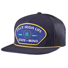 <!--020140812065161-->JSLV - 'JSLV Mindstate Trucker' [(Dark Blue) Snap Back Hat]