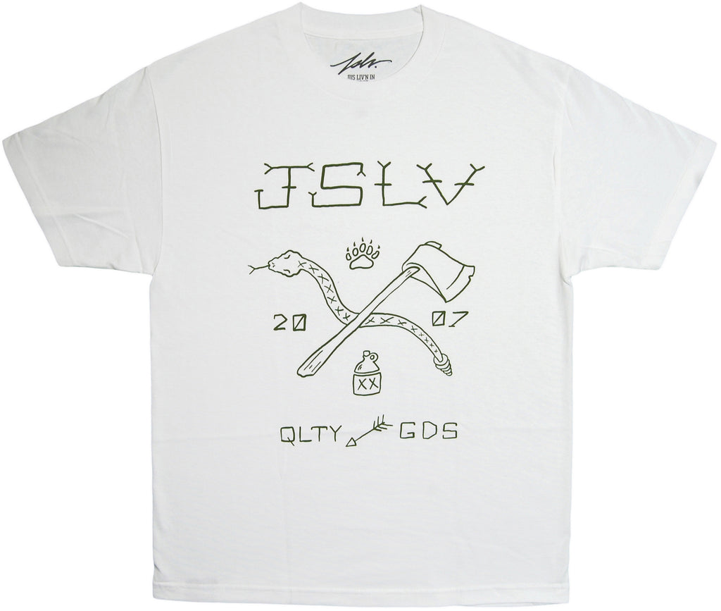 <!--2013102253-->JSLV - 'Camp' [(White) T-Shirt]