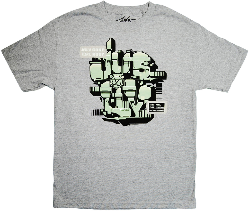 <!--2013102228-->JSLV - 'Trav Stamp' [(Gray) T-Shirt]