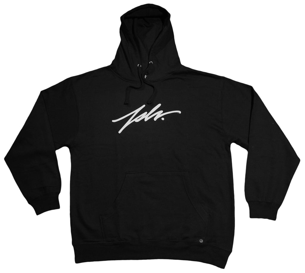 <!--2012072447-->JSLV - 'Signature' [(Black) Hooded Sweatshirt]