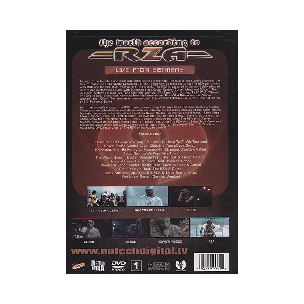 <!--2004041312-->Rza - 'Live From Germany' [DVD]