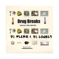DJ Flare & DJ Lonely - 'Drug Breaks' [(Black) Vinyl LP]