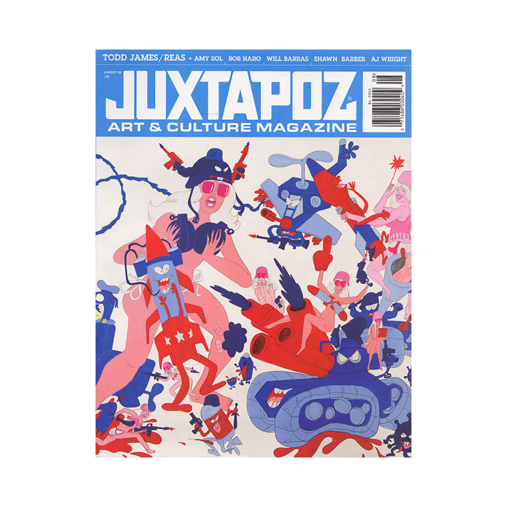 <!--020080729002735-->Juxtapoz Art & Culture Magazine - 'Issue 91, August 2008' [Magazine]