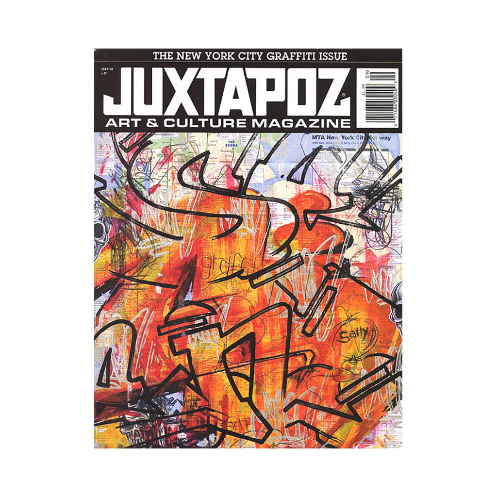 <!--020080819014702-->Juxtapoz Art & Culture Magazine - 'Issue 92, September 2008' [Magazine]