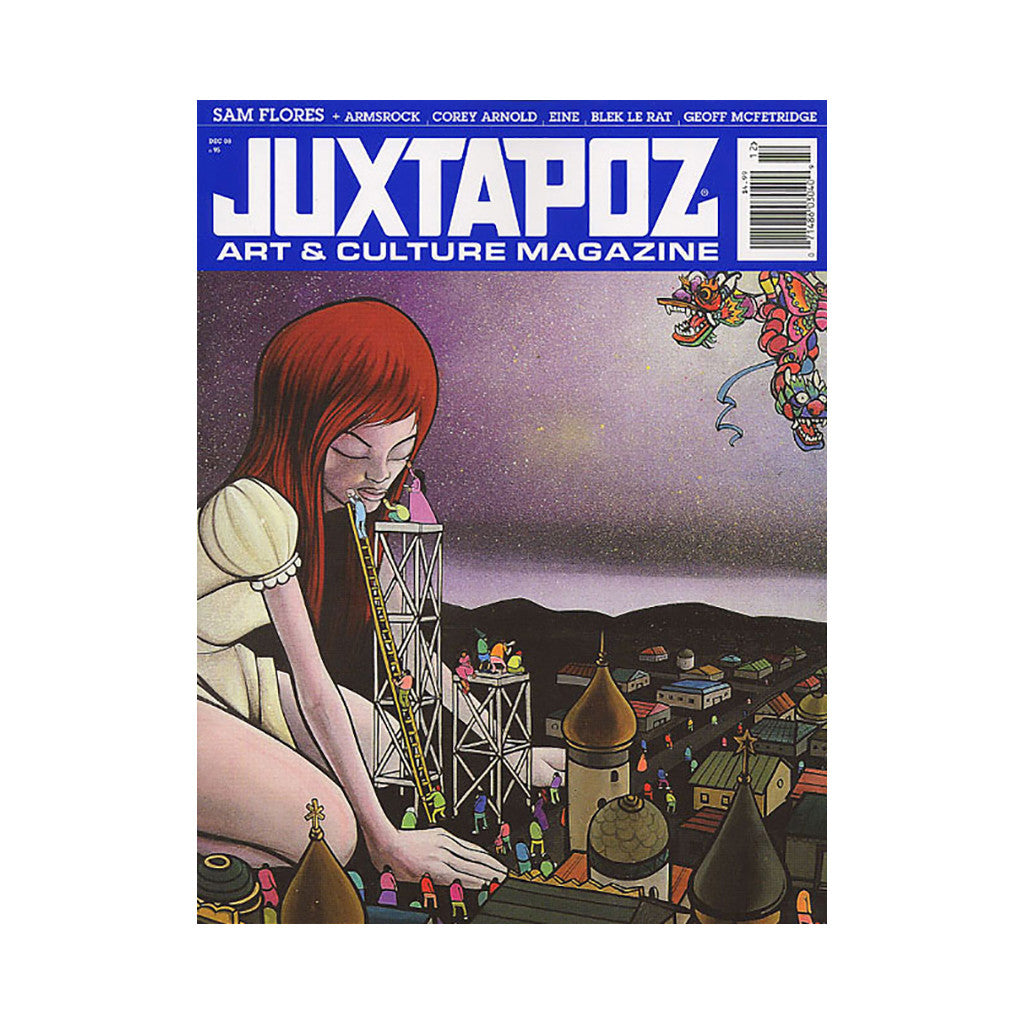 <!--020081118015462-->Juxtapoz Art & Culture Magazine - 'Issue 95, December 2008' [Magazine]